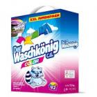 Der  Waschkönig  COLOR Alpen Frisch  7,5 kg  prací prášek na barevné prádlo