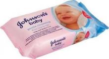 Johnsons Baby 56 ks - dětské vlhčené ubrousky