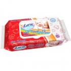 Lara Baby Soft Wet Towel dětské vlhčené ubrousky  72 ks